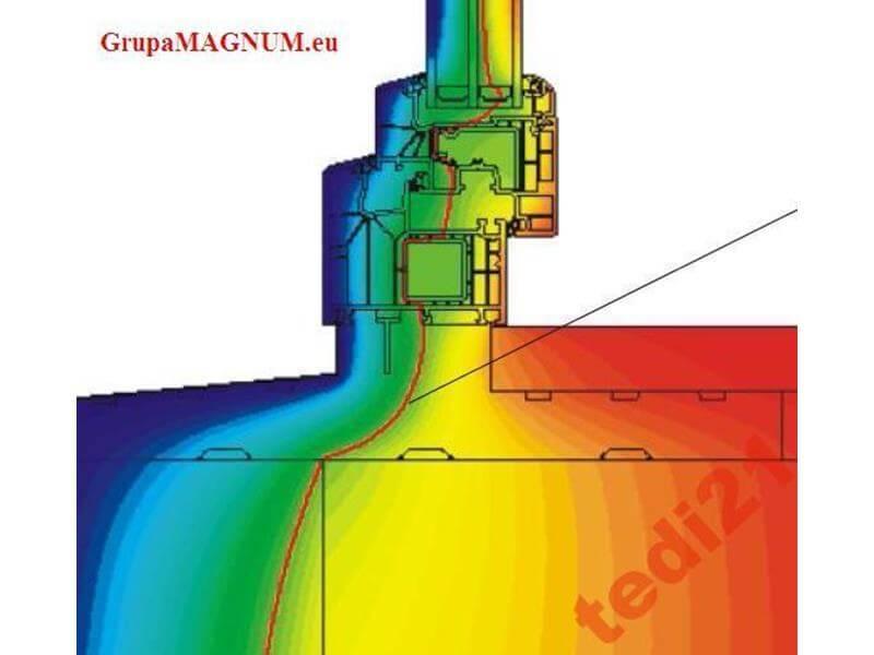 Ciepły Profil Pod Drzwi Pd01 Xps Od 70 Do 250 Mm Wycinany Indywidualnie Pod Profil